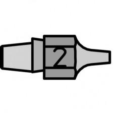 Насадка для выпайки и удаления припоя Weller DX 112
