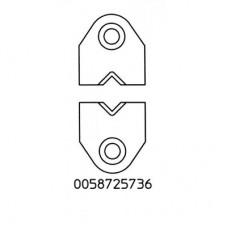 Набор V-образных ножей Weller AWG 4