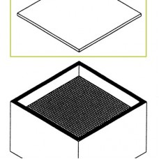 Фильтр для мелкой пыли Weller F7 для Zero Smog 20T, WFE 20D, WFE 4S, Zero Smog 6V, FC 800
