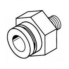 Головка Weller CSF-Q для выпайки 17,0 x 17,0 мм