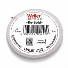 Оплетка для выпайки 1,6 м, 1,5 мм Weller